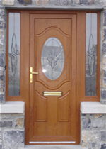 Brown Front Door